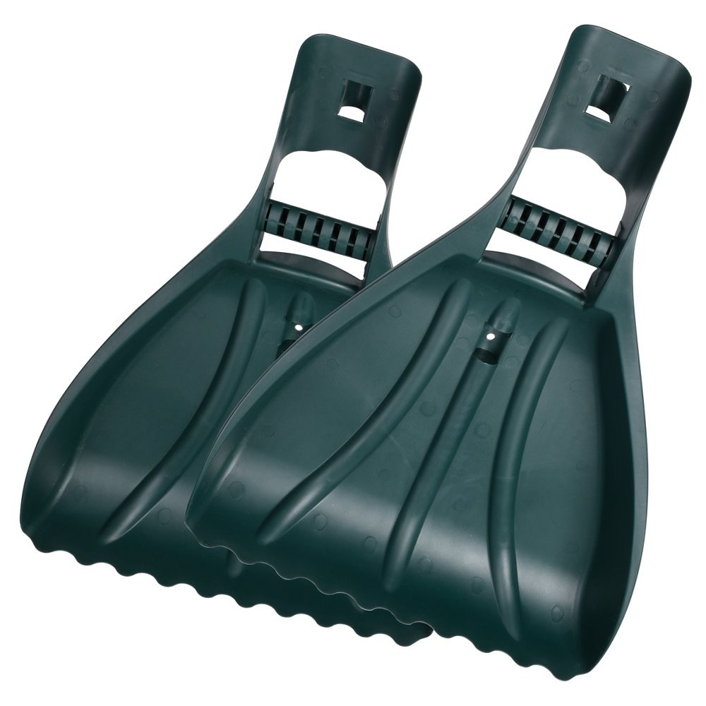 Leaf Scoops ORIENTOOLS Large Leaf RakesRake Hands /Grabbers/Claws Rakes Gorilla Garden Hands Leaf Rake Grabber , Garden and Yard Hand Rakes, Grass Clippings, Lawn Grass Removal,Green (1 Pair) by ORIENTOOLS