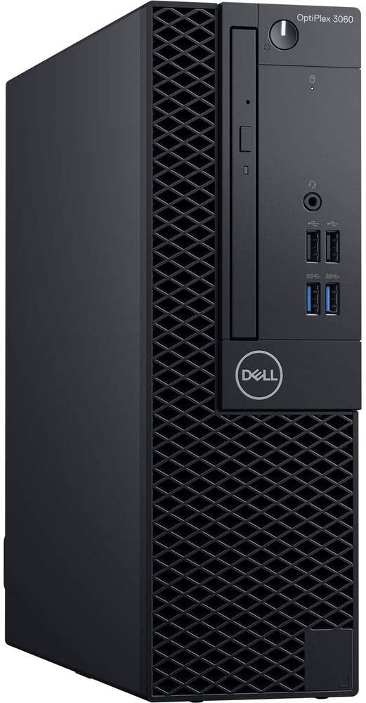 Dell OptiPlex 3060 Small Form Factor (SFF) Business Desktop PC, Intel Hexa Core i5-8500T Processor, 16GB RAM, Intel 512GB PCIe NVMe SSD, Display Port/HDMI, Ethernet, DVD±RW, Windows 10 Pro