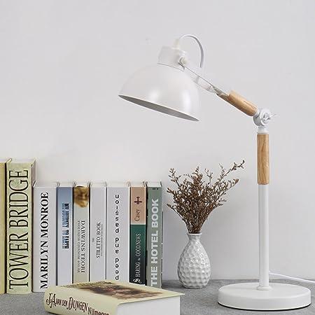 DGEG Lámpara de Mesa Nordic IKEA Ojos creativos Simples Retro Warm ...