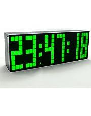 Yosoo Alarma Big Time Relojes LED Digital/Cuenta atrás/adelante Reloj con el Controlador