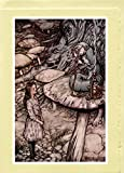 "Arthur Rackham Greeting Cards (13 Designs from ""Alice in Wonderland"" [1907])"