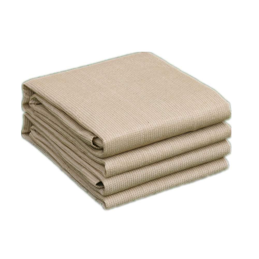Beige 3x7m WUZMING-Filet De Camouflage Crème Solaire Anti-UV Forte Traction avec Trou Métallique Durable Fibre De Polyester, 21 Tailles (Couleur   Beige, Taille   4x5m)