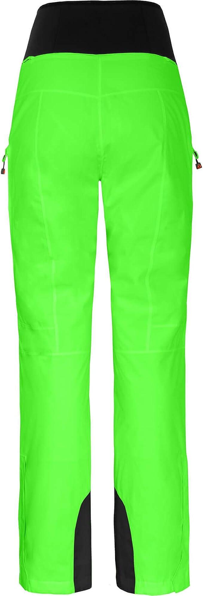 Bergson Damen Skihose Ice Light bielastisch Atmungsaktivit/ät: 20000 g//qm//24Std Wassers/äule: 20000 mm gef/üttert PFC-frei Regenhose Skihose unwattiert Oberschenkel Ventilation