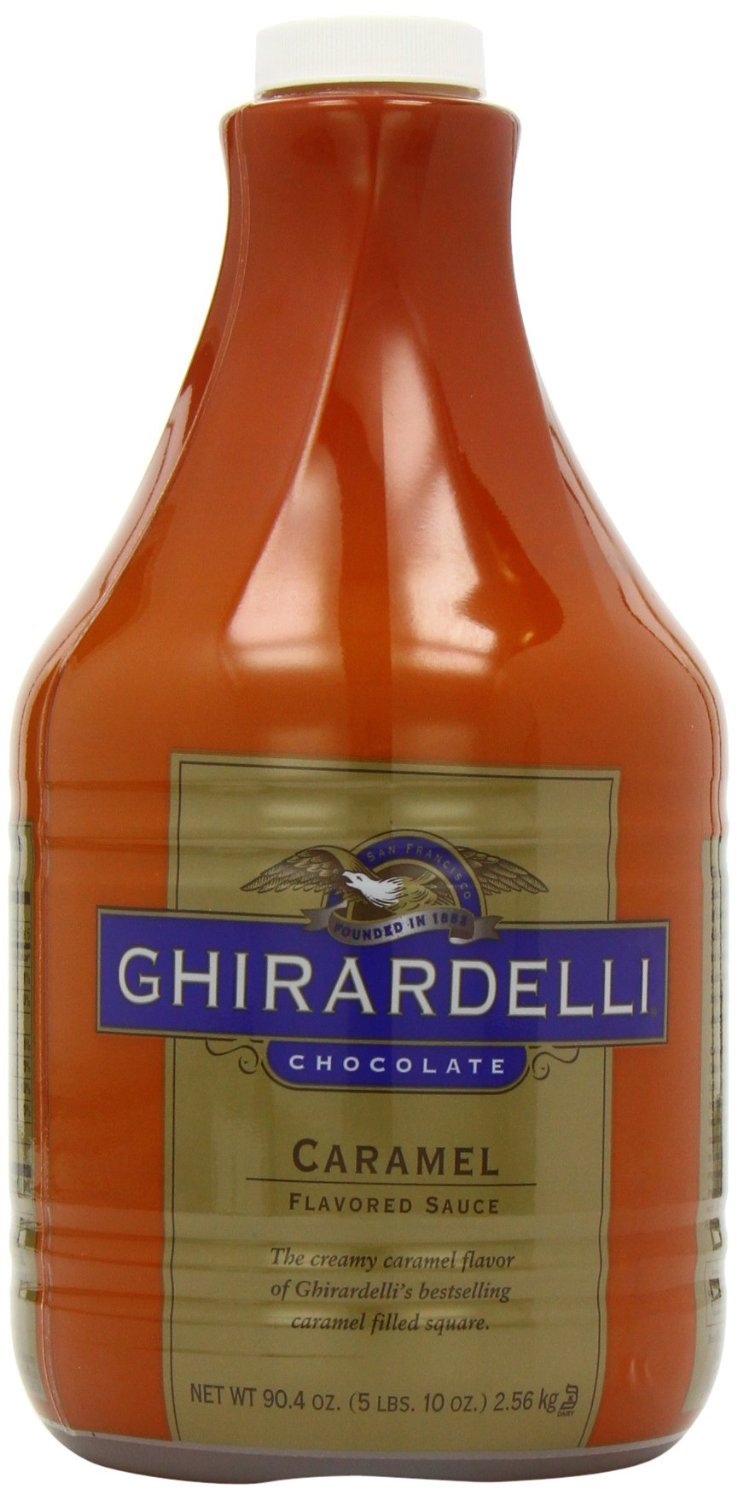 Ghirardelli Flavored Sauce, Creamy Caramel, 90.4-Ounce (Pack of 6)