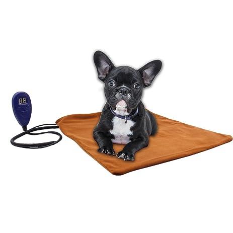 Amazon.com : Pet Bed Warmer Aiicioo Pet Heating Pad for Dogs Cats ...