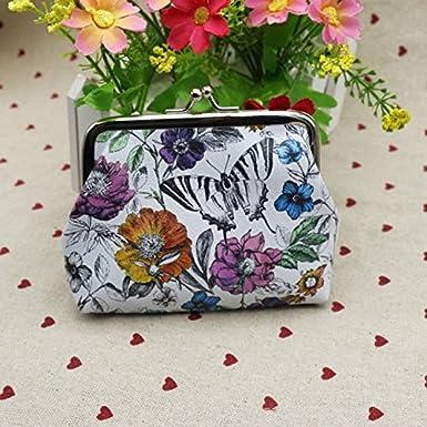 Vovotrade/®Porte-cartes Femmes Porte-monnaie Sac /à Main Embrayage Antique Motif Papillon