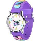 3D Kids Watch - Sport Waterproof Cute Watches -...