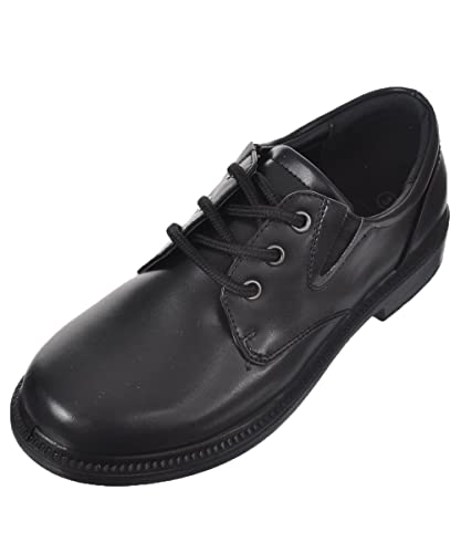 Amazon.com: French Toast Boys Damien Uniform Dress Shoe Black: Shoes