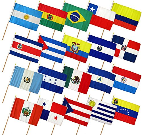 Set of 20 Latin American 12