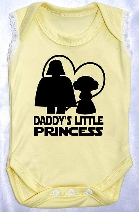 Daddys Little Princess Star Wars - Pijama para bebé (recién ...