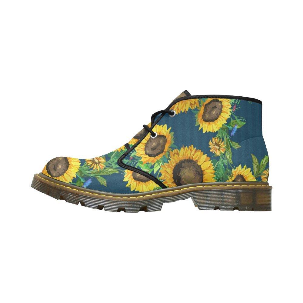Artsadd Unique Debora Custom Women's Nubuck Chukka Boots Ankle Short Booties B0795K2HHW 8.5 B(M) US|Multicolored27