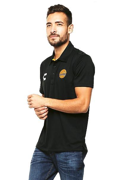 Charly Polo Dorados de Sinaloa Playera para Hombre Negro Talla M ... 7cfb9f9b736ca