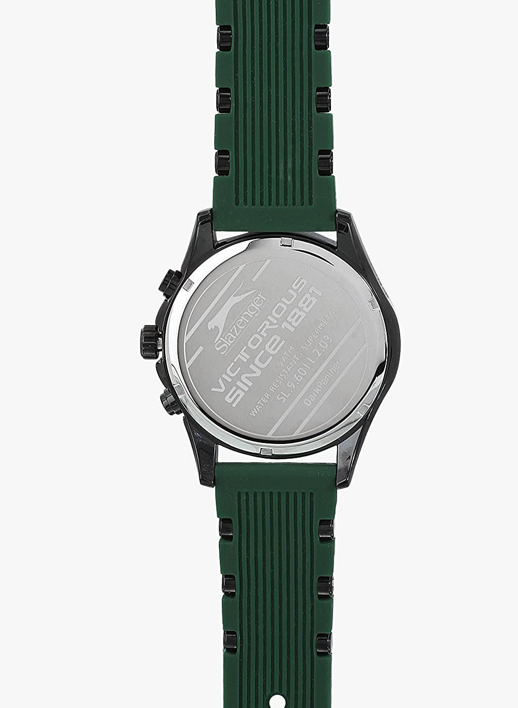 Buy Slazenger Green Dial Analogue Watch For Men Sl96011203 1084 Trolley Case 28 Inc Online At Low Prices In India