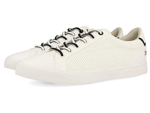 Gioseppo 43587, Zapatillas para Hombre, Blanco (White), 44 EU