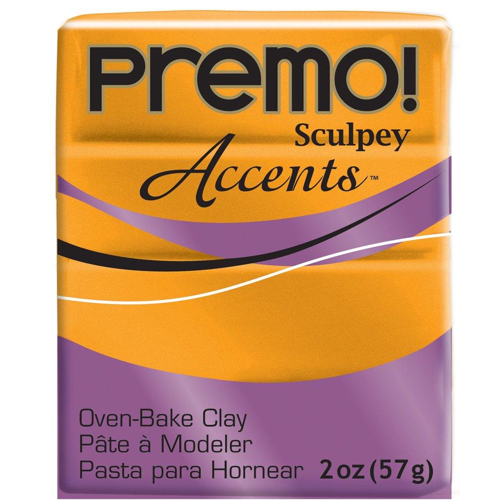Premo Sculpey fimo 2 Once-Orange