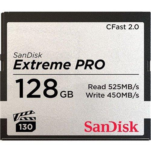SanDisk Extreme Pro 128 GB CFast Card
