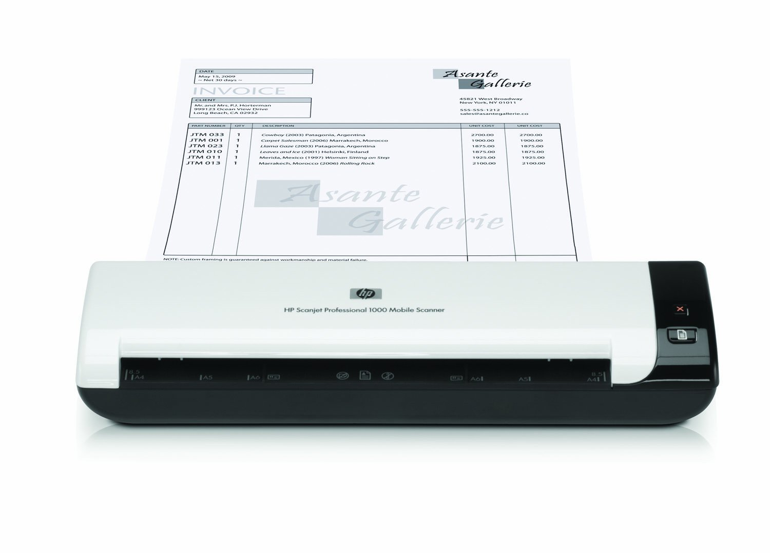HP Scanjet Professional 1000 Mobile Scanner, (L2722A) by HP (Image #6)