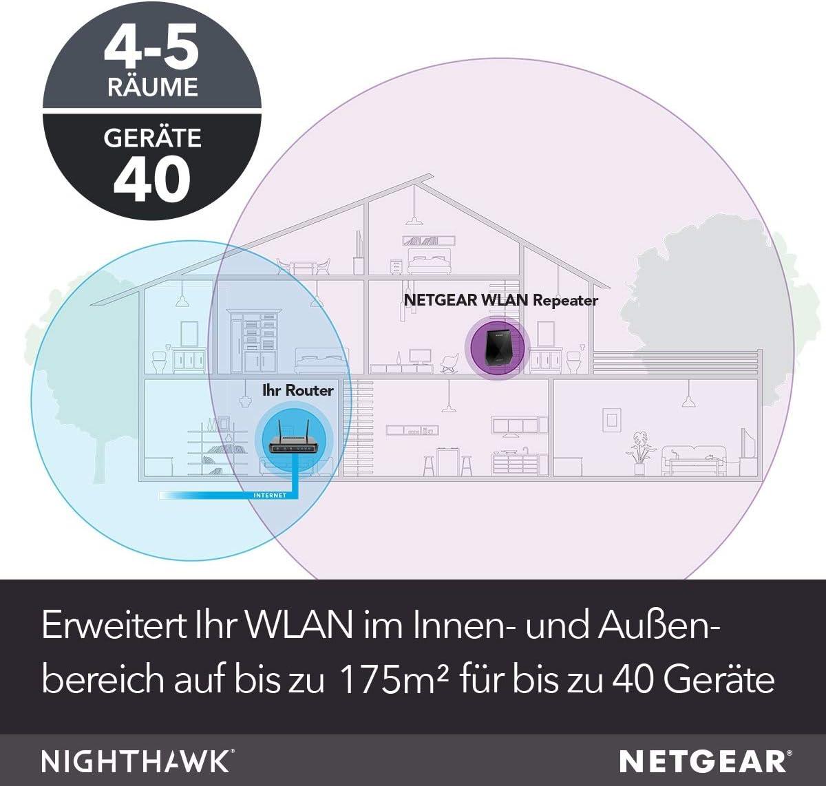Netgear Ex7700 100pes Ac2200 Wifi Mesh Repeater Elektronik