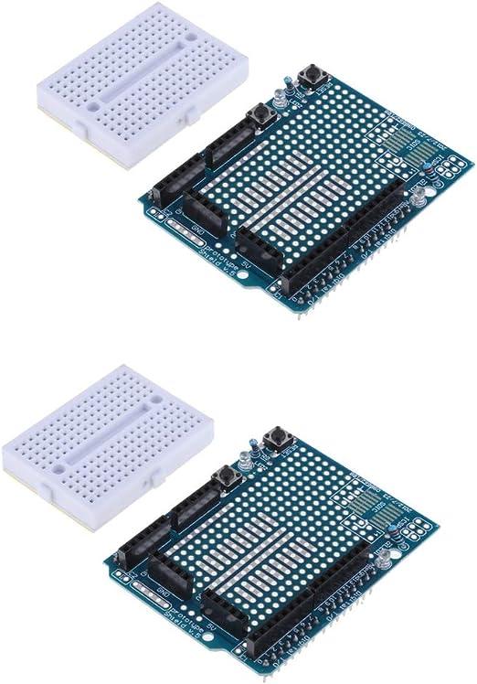 Mini Breadboard Atmega328P 5PCS Prototyping Prototype shield ProtoShield