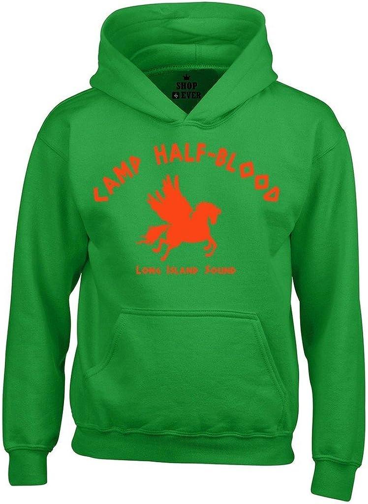 shop4ever Camp Half Blood Orange Hoodies Cool Demigods Sweatshirts