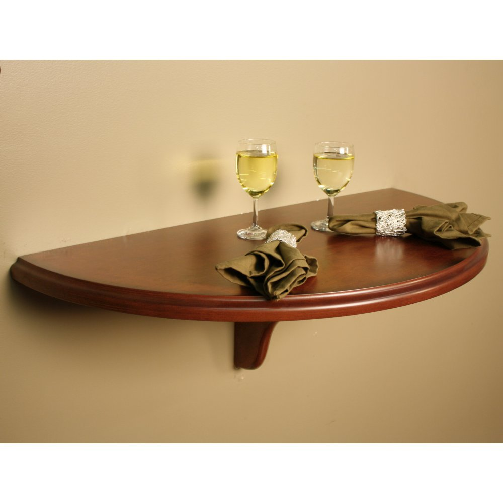 Amazon.com: American Heritage Chicago Wall Table Shelf in Sierra ...