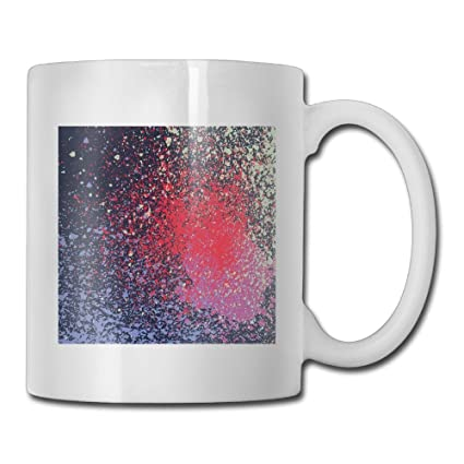 Amazon Com Sara Nell Custom Gift Coffee Mug Galaxy Spray Paint