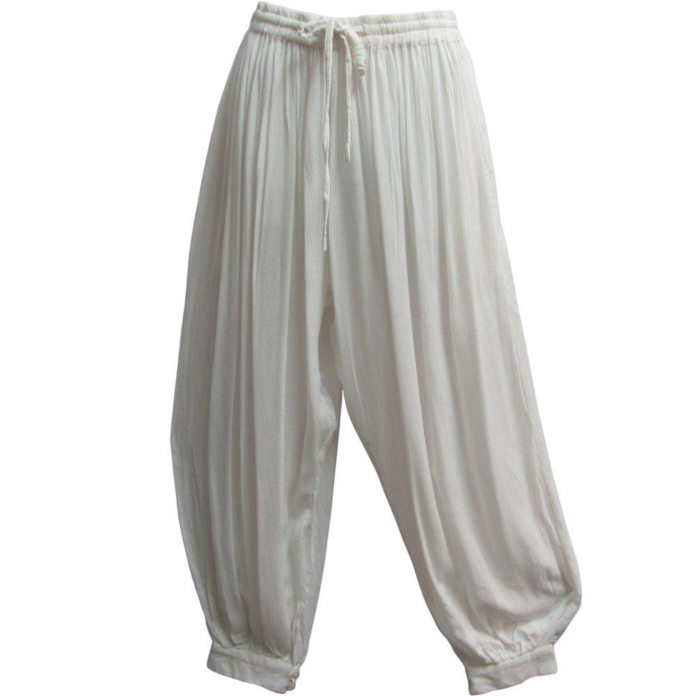 Mens Indian Aladdin Gypsy Hippie Yoga Meditation Harem Pants P2