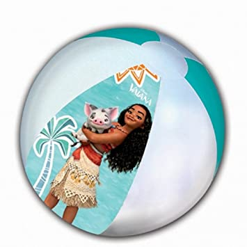 Balón hinchable Vaiana Disney 45 cm Playa/Piscina: Amazon.es ...