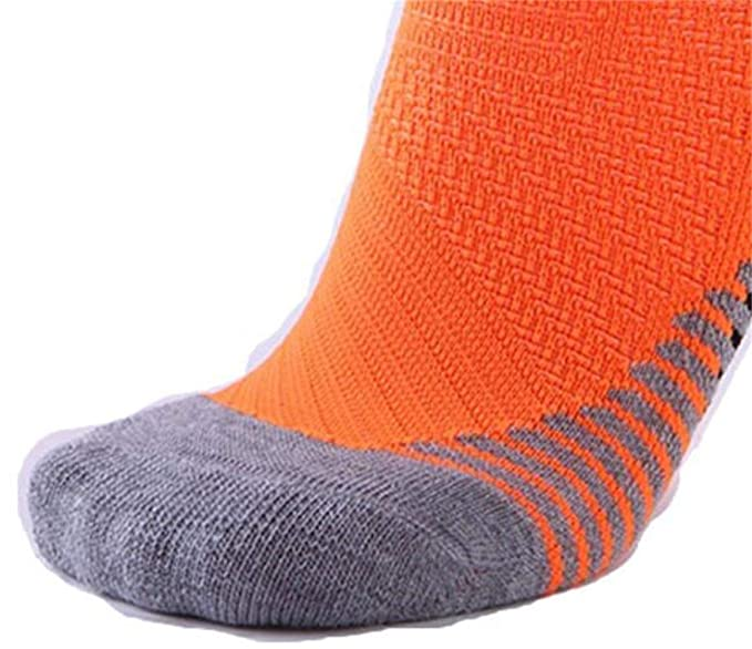 SKNSM Calcetines cortos deportivos al aire libre para hombres Medias antideslizantes elásticas transpirables lisas sólidas (