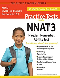 Nnat 2 level d practice test 3rd and 4th grade paperback jan 01 nnat3 2 practice tests level d 3rd 4th grade in color publisher fandeluxe Gallery