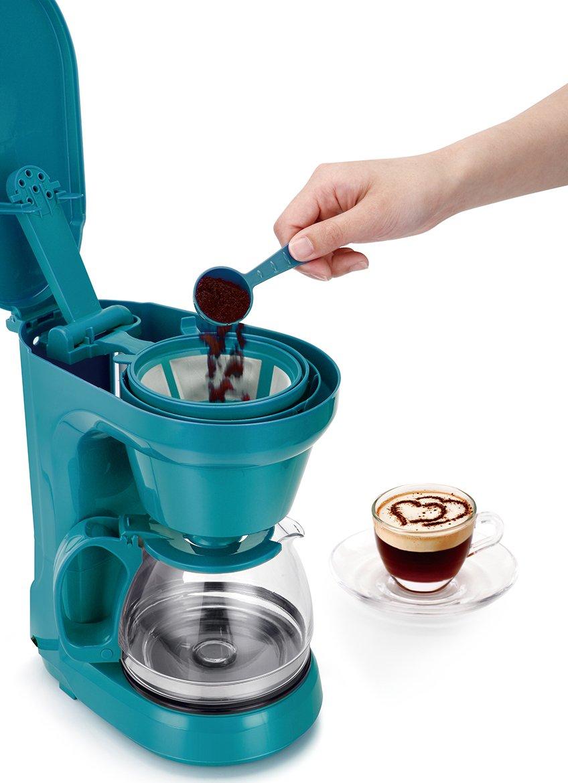 Amazon.com: Holstein Housewares HH-0914701E 6 Cup Coffee Maker 6 ...