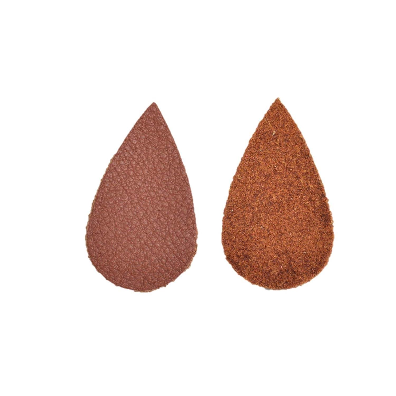 12pk Leather Med Teardrop Die CutButterlicious Wicked Wild White DIY Earrings