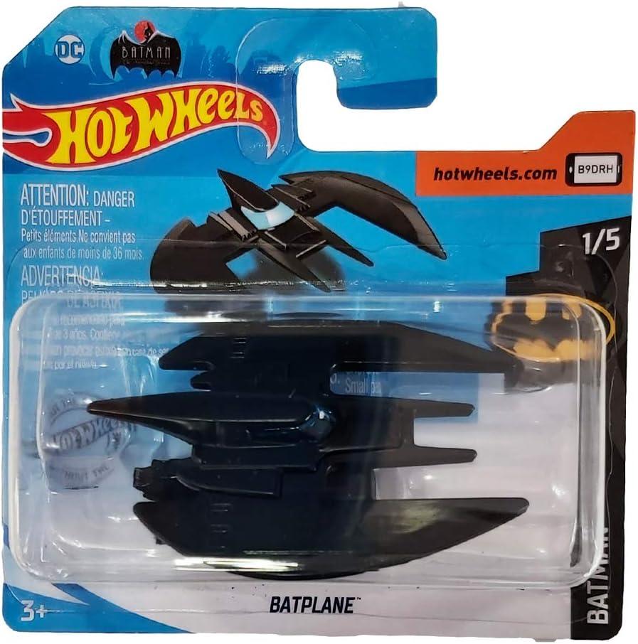 FM Cars 🔥Hot-Wheels Batplane - Serie Batman 🦇 1/5 - HW 2020 - Batman