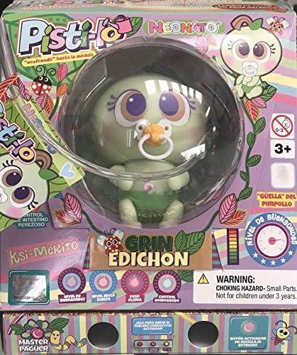 Distroller Limited Edition Ksimerito Nerile Neonate Doll Muñeca De Neonato Ecológica Con Cambio De Color Pisti Lo Pistilo En Español Toys Games