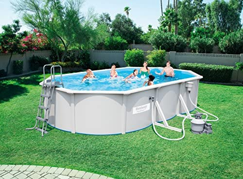 Best Way 1571260031 - piscina oval hydrium 610x36 cm: Amazon.es ...