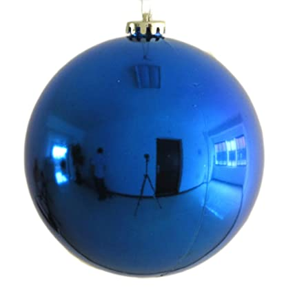 30cm large christmas ball christmas shiny balls large christmas balls ornaments blue - Large Christmas Ball Ornaments