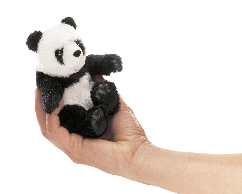 Folkmanis Mini Panda Finger Puppet Folkmanis Puppets 2694