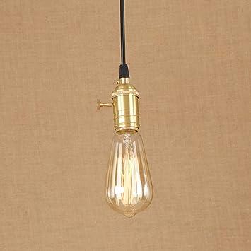 Desinger Lámpara de Techo de Metal Pintado de Hierro ...