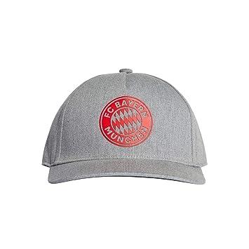 adidas FCB S16 Cap CW2 - Gorra FC Bayern de Múnich, Mujer, Gris(
