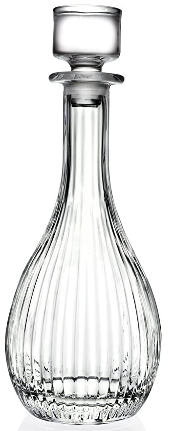 Rcr Crystal Glass Timeless Decanter Round Tall Wine Whiskey Decanter