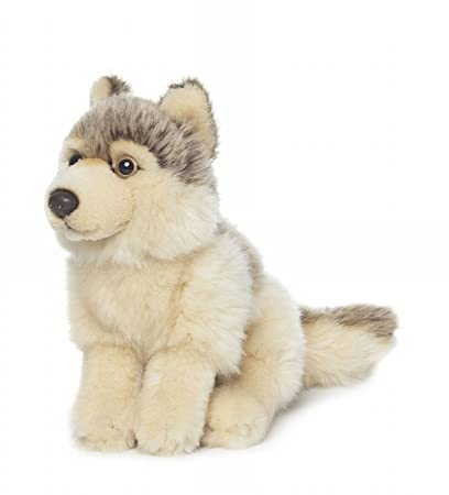 Wwf - 15190012 - Stuffed Toy - Wolf - 15 Cm