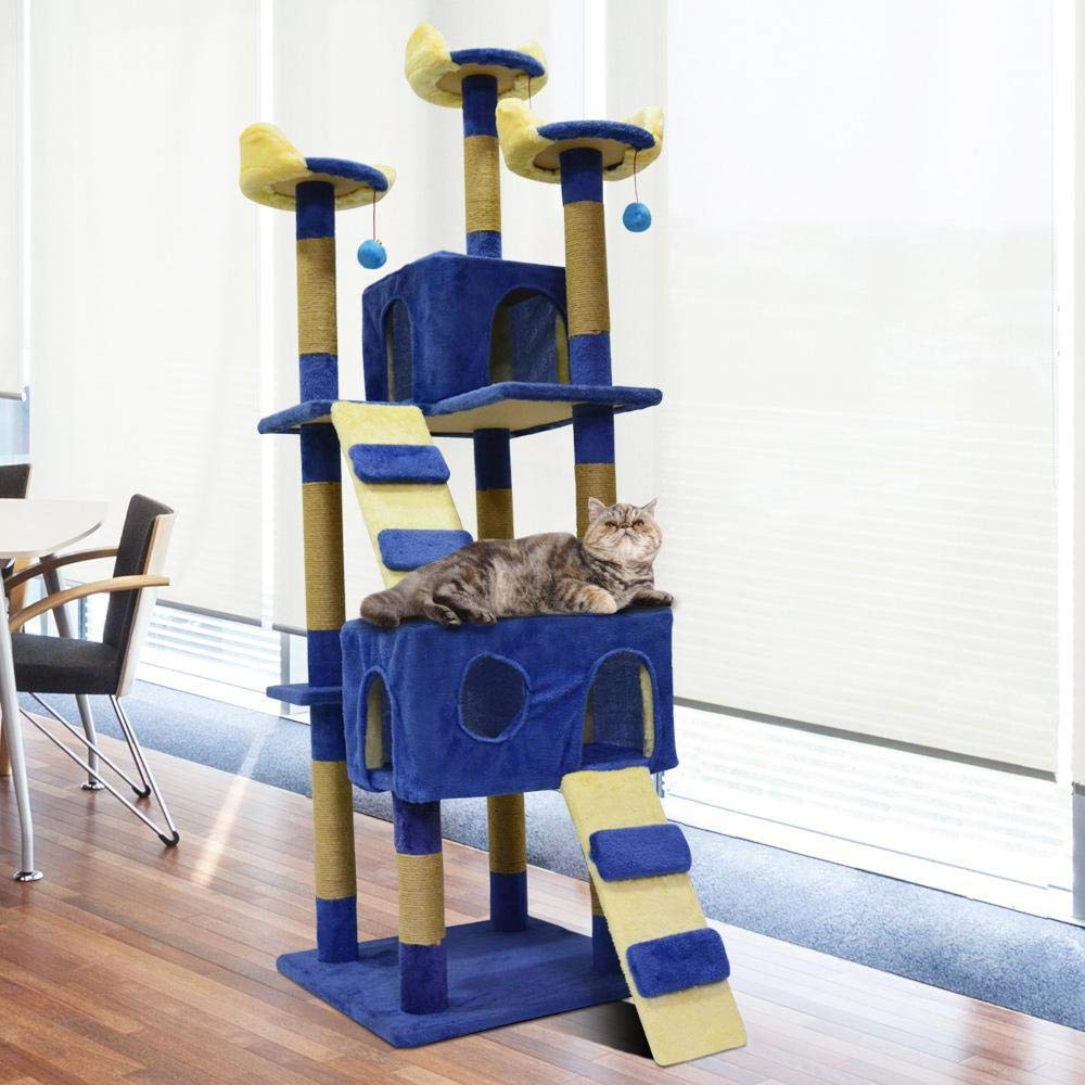Weiwei Cat climbing Frame cat tree cat grab column for sleeping game 170cm 50cm  50cm