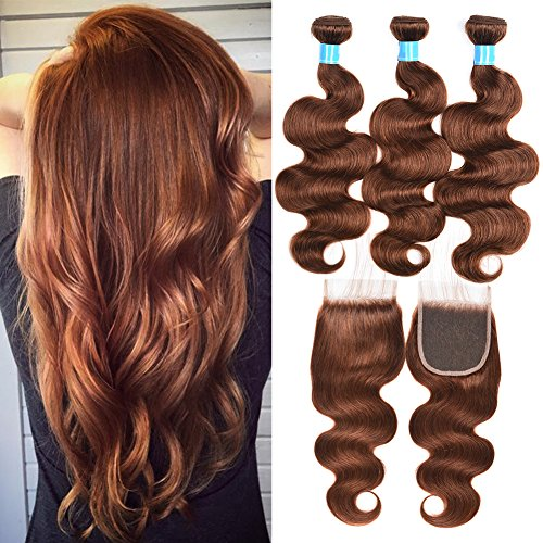 Mothers-Day-Gifts-for-Mom-8A-Grade-Virgin-Brazilian-Body-Wave-Hair-3-Bundles-with-closure-100-Unprocessed-Remy-Human-Hair-Weave-Extensions-4-Light-Brown-Full-Head16182014closure