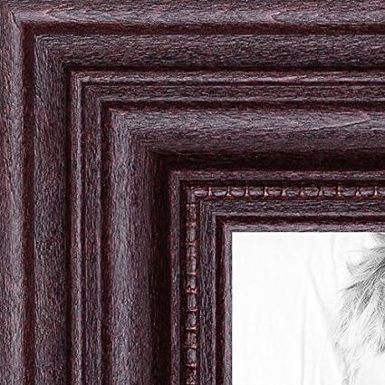 Amazon Arttoframes 12x12 Inch Dark Cherry Stain Wood Picture