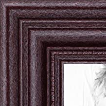 ArtToFrames 5x7 inch Dark Cherry Stain Wood Picture Frame, WOM0066-81375-YCHY-5x7