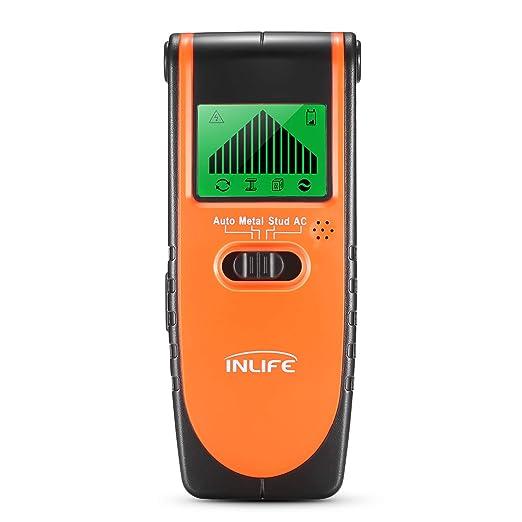 InLife Detector de Madera Perno de Metal Cables de AC Stud Finder Detector Digital con 4 Modos para Diferentes Paredes Pantalla LCD: Amazon.es: Bricolaje y ...