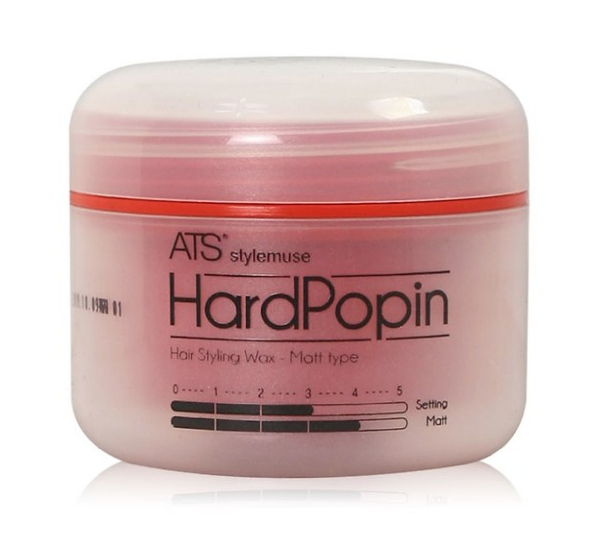 ATS STYLEMUSE HARD POPIN STYLING WAX - Men's and Women's Hair Styling Product Matte Wax Molding Cream Paste Pomade Sculpting Forming Texturizer Putty, Super Strong Hold, Earth Friendly, 100g 3.52oz