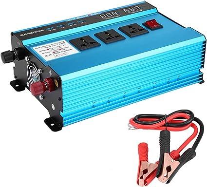 1000W-6000W Solar Power Inverter Modified Sine Wave DC 12V To AC 110V Converter