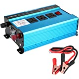 10000WCar Power Inverter ,DC 12V to AC 220V Solar Converter with Voltage Display,Modified
