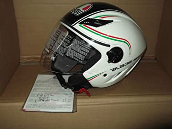 Amazon.es: Casco Jet Moto AGV Blade y 2205 Multi Start Italia Peso 1200 GR- Talla XL